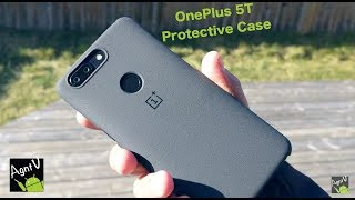 OnePlus 5T Protective Case Sandstone Unboxing and Quick Look