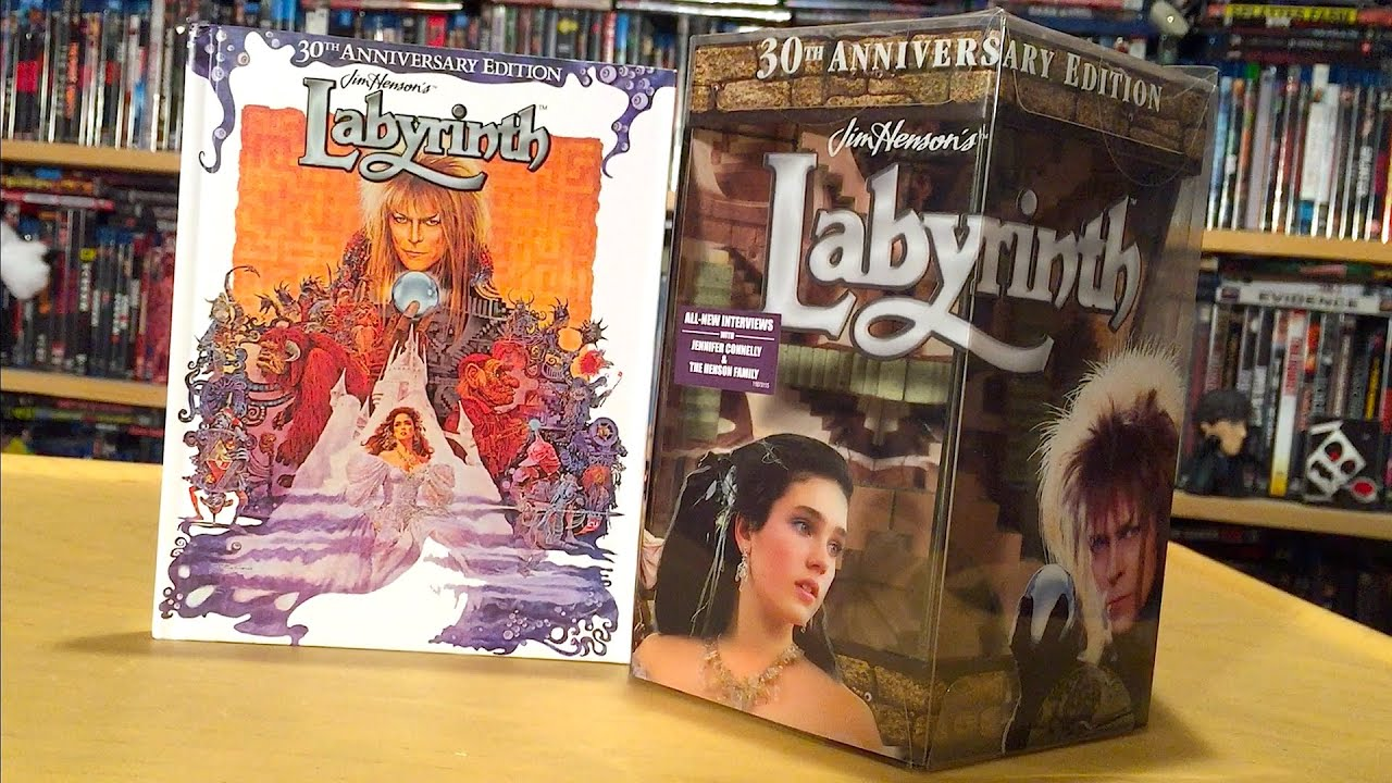 Labyrinth 30th Anniversary Blu-ray Gift Set Unboxing and Review ...