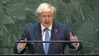 BOJO UN SPEECH, ANTI VAXXERS ARE DANGEROUS, MENTIONS PROMETHEUS?