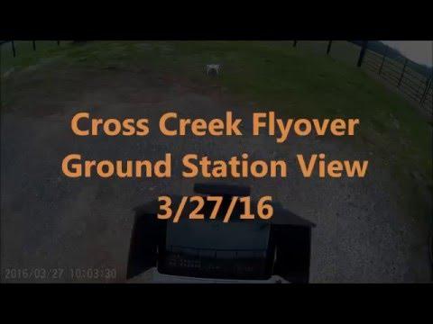 Cross Creek Flyover - behind the scenes