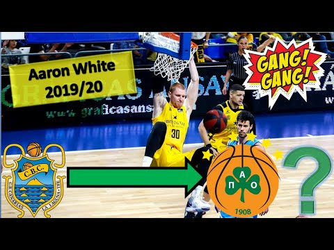 Aaron White ● Iberostar Tenerife ● 2019/20 Best Plays & Highlights