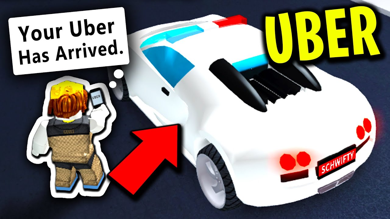 Hackers Try To Stop Our Uber Roblox Jailbreak - I Became An Uber Driver In Mad City And This Happened