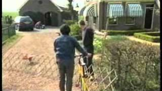 某放送でのワンシーンです。 世界一の自転車保有率を誇るオランダ、グロ...