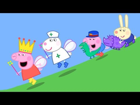 Peppa Pig English Episodes | Peppa and Suzy Sheep have a race! | Peppa Pig 2018 Peppa Pig Official
