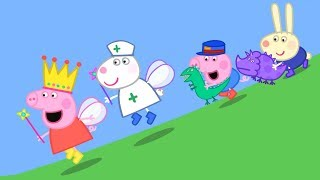 Peppa Pig English Episodes | Peppa and Suzy Sheep have a race! | Peppa Pig 2018 #PeppaPig thumbnail
