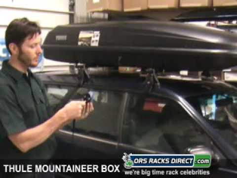 Thule 669ES Mountaineer ES Cargo Roof Box Review Video & Demonstration