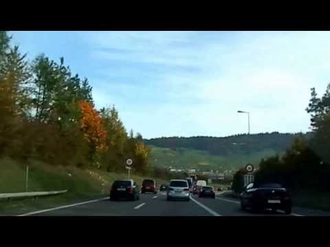 Autobahn fahrt /highway driving Basel-Zürich (Teil 2) Schweiz switzerland suisse svizzera