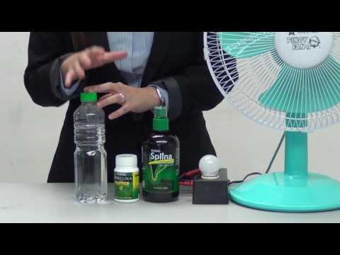 Product Demonstration - Splina Chlorophyll and Hawaiian Spirulina