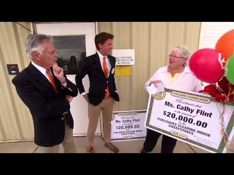 Publishers Clearing House Winners: Cathy Flint From Laramie, Wyoming Wins  $20,000 Twice
