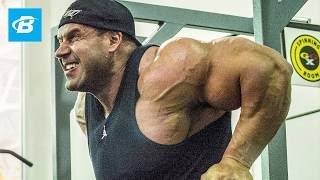 How Jay Cutler Trains Chest And Calves | Bodybuilding Workout