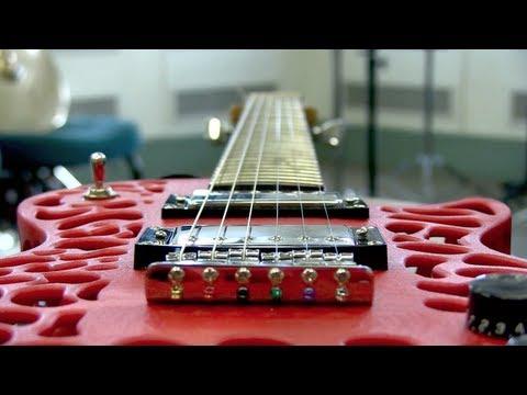 0 - Olaf Diegel: Elektrische Gitarren aus dem 3D-Drucker - Update: Steampunk Guitar