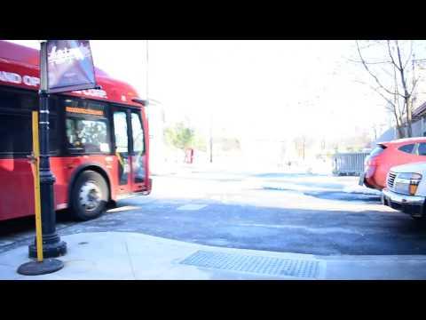 Roosevelt Island Operating Corporation 2016 New Flyer XD40 Bus 8 @ Road 5 Tram