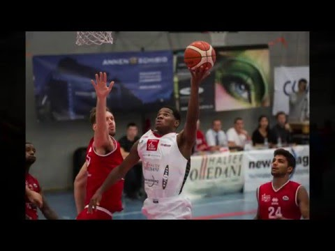 Swiss Central Basket vs. Massagno: Richard Carter at the Buzzer