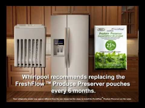 FreshFlow Produce Preserver Filter  YouTube