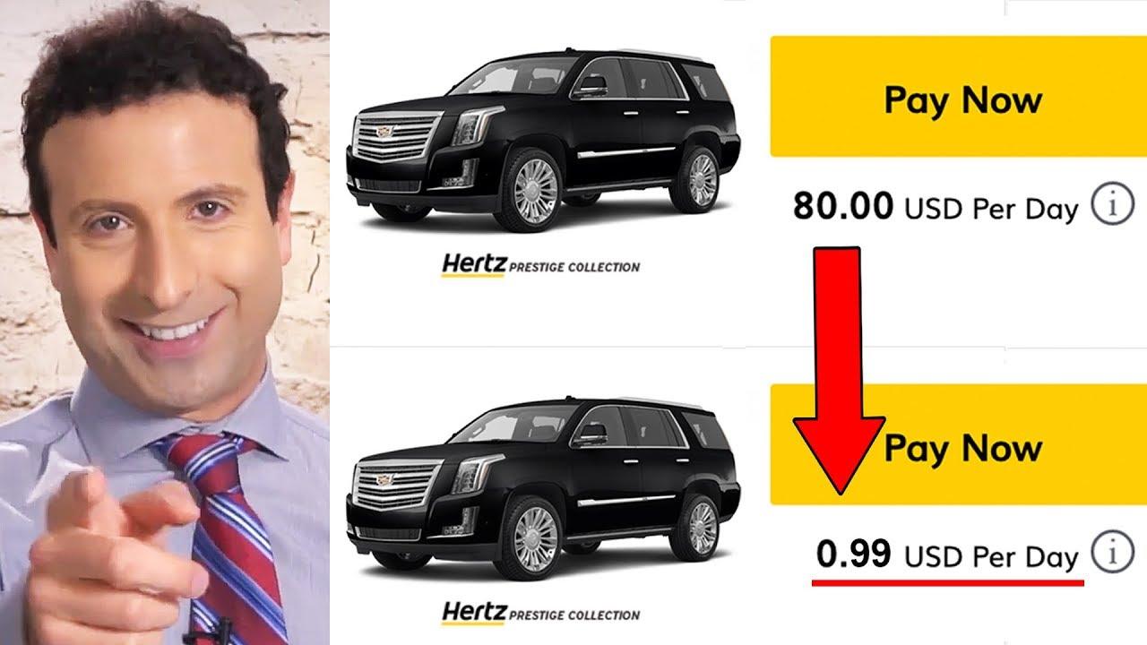 5 CAR RENTAL SECRETS ENTERPRISE, BUDGET \u0026 HERTZ Don't Want You to Know!