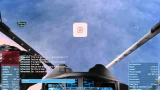 Space Engineers: Survival mode Kinetic Impactor test