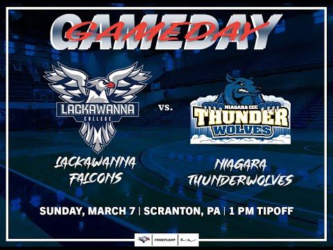 Lackawanna College Men's Basketball vs Niagara CCC
