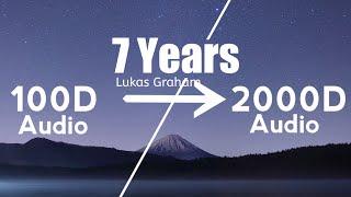 Lukas Graham - 7 Years(2000D Audio  Not  100D Audio)Use HeadPhone   Share