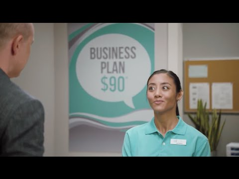 """Donnabella Mortel with Rob Corddry in T-Mobile's """"Tiscount"""" Commercial"""