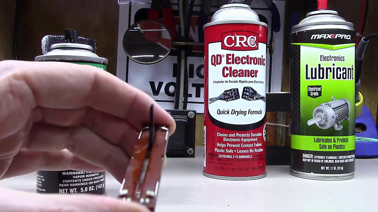 Deoxit Demystified How To Use It And Other Electronics Cleaners Youtube