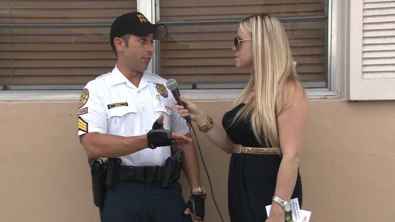 police officer freddy cruz miss celebrity in miami calle ocho police officer freddy cruz miss celebrity in miami calle ocho celebrity interview
