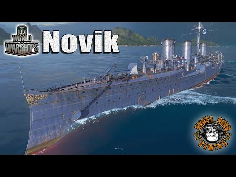 World of Warships: The Novik