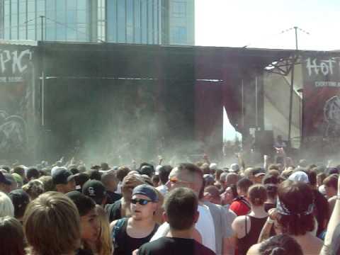 Job For A Cowboy - Unfurling a Darkened Gospel LIVE @ Mayhem Festival (Denver, CO 7/19/09)