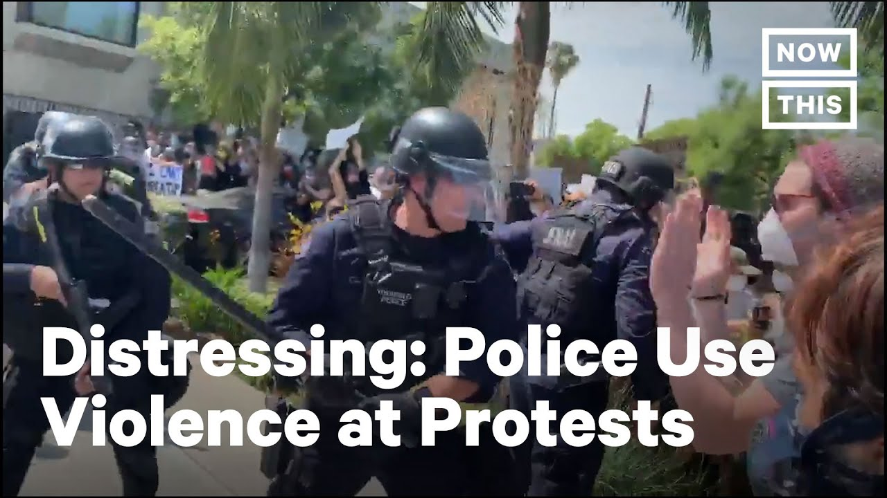 Police Across the U.S. Unleash Violence on Peaceful Protesters | NowThis