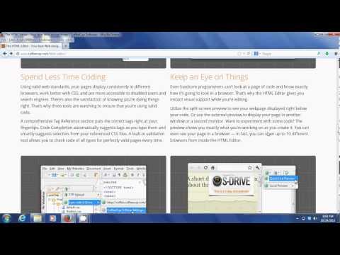 Free HTML Editor - Coffee Cup