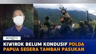 Kiwirok Belum Kondusif, Polda Papua Segera Tambah Pasukan