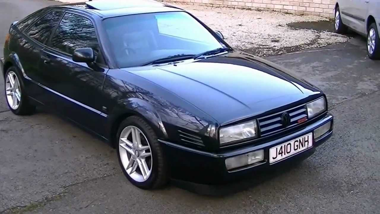 Now Sold! VW Corrado G60 Supercharged, 20 years old in Showroom Condition! - YouTube