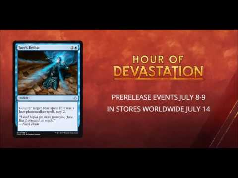Hour of Devistation Offical Wizards of the Coast Spoiler! Jace's Defeat! NEW full art land spoiler!