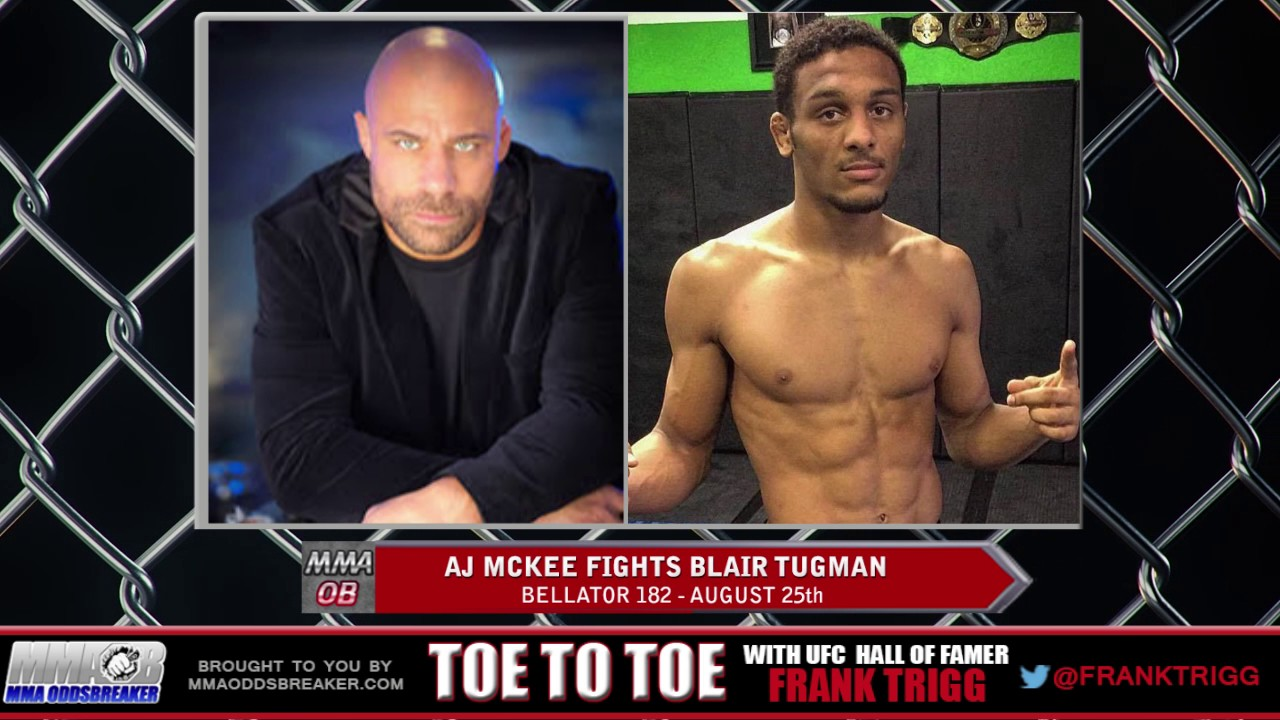 Frank Trigg pre-fight interview with Bellator 182's AJ McKee