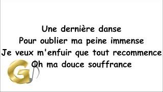 Indila - Dernière Danse Paroles (Lyrics) [Nightcore]