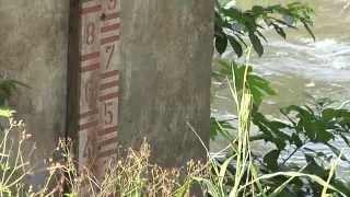 Río Jamapa alcanza su mayor nivel en lo que va del año