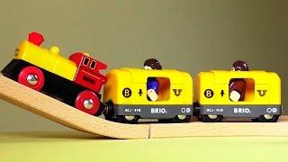 Мультфильм Поезд в Лондон: мультик для детей про игрушечные паровозики Брио(Мультик для детей Поезд в Лондон - это увлекательная история о друзьях-путешественниках, которые разминули..., 2014-09-22T01:00:00.000Z)