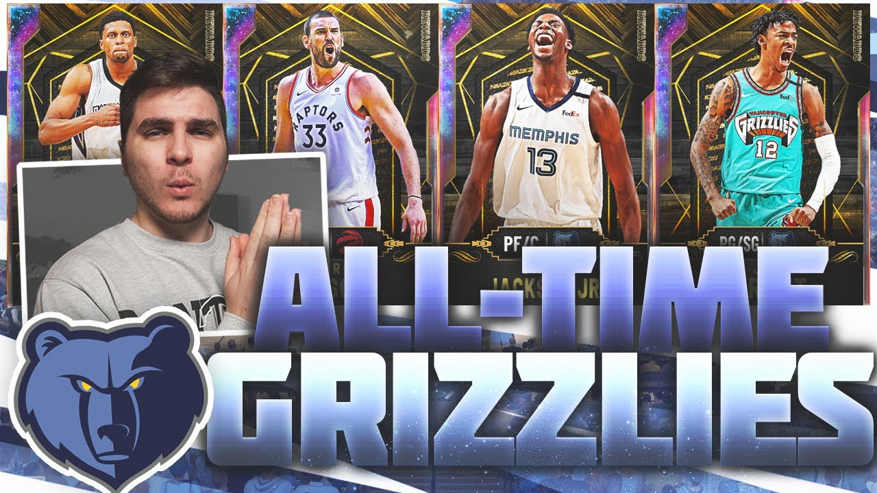 The All-Time GRIZZLIES Team Builder!