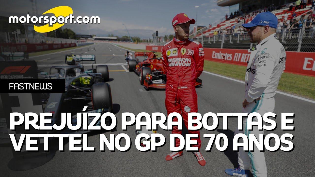 GP dos 70 Anos da F1 escancara 'fogo amigo' de Mercedes e Ferrari contra Bottas e Vettel; entenda
