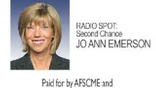 Radio Spot: 2nd Chance - Jo Ann Emerson