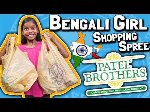 Bengali Girl Shopping Spree For Food That Reminds Her Of India // Patel Brothers Indian Marketplace