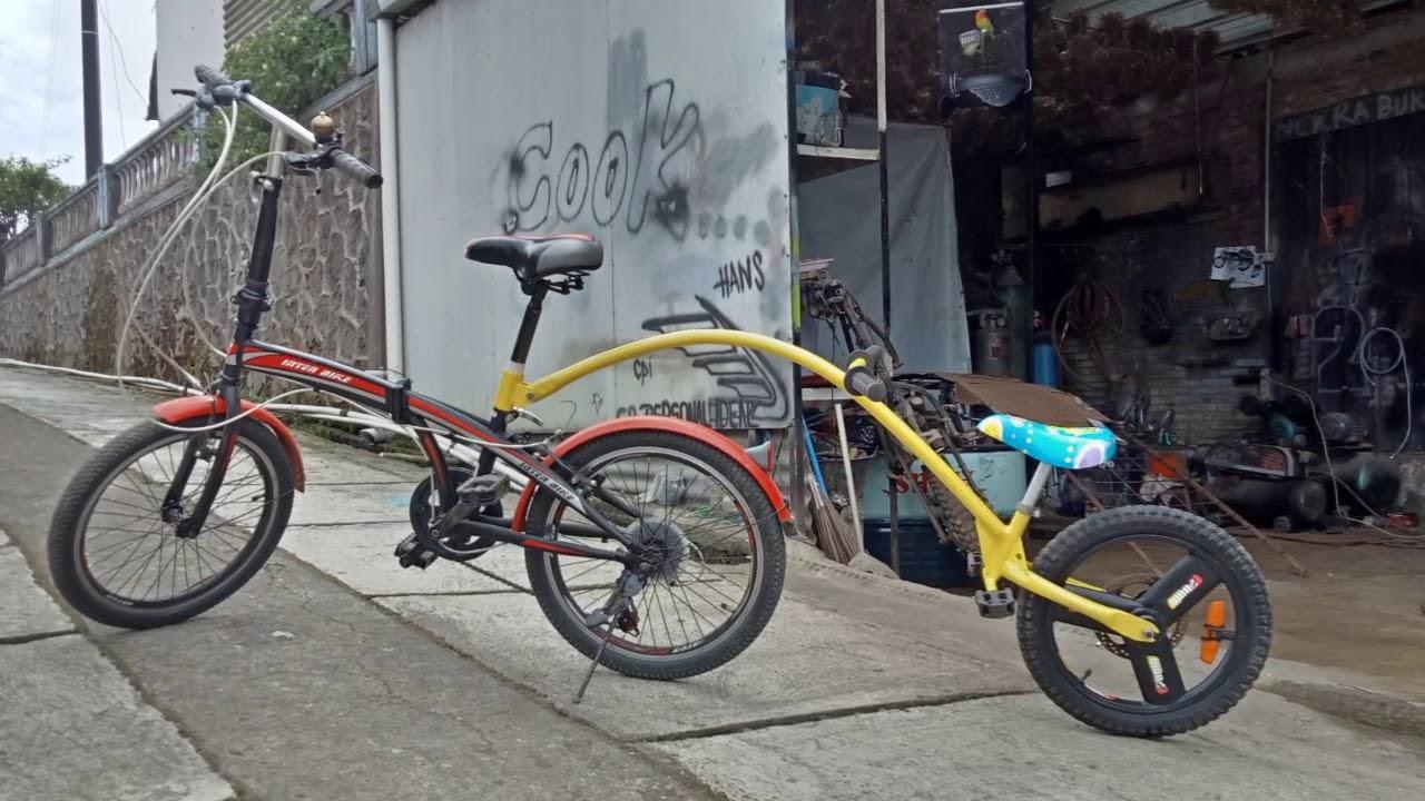 Sepeda Gandeng Sepeda Tandem Portable Order Wa 085640390595 Bl Toped Encher Garage Youtube