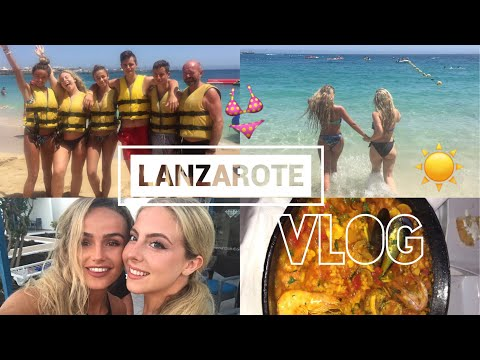 COME TO LANZAROTE WITH US | VLOG | SYD AND ELL
