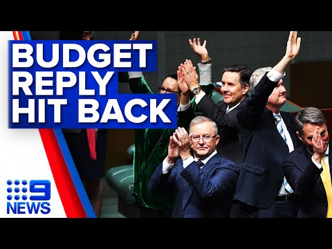 Coalition hits back at Albanese over Budget | 9 News Australia