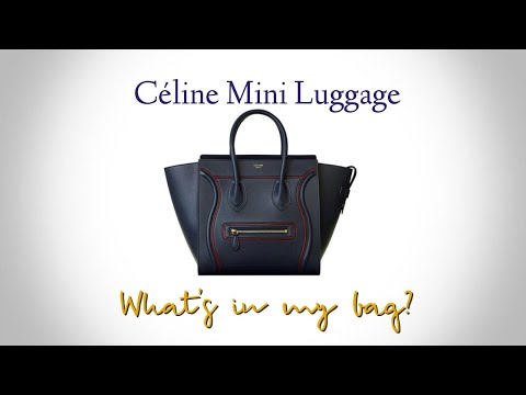 What's In My Bag Challenge | Céline Mini Luggage  - Jen Hodgdon thumbnail