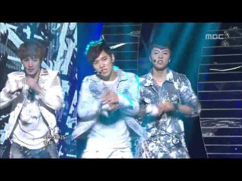 100% - Bad Boy, 백퍼센트 - 나쁜 놈, Music Core 20121027
