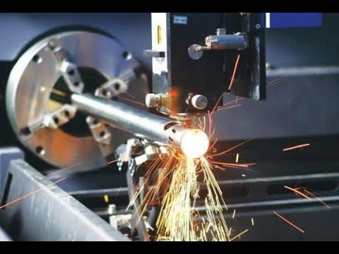 Laser Cutting of Metal 3D