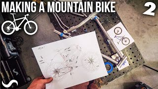 MAKING A MOUNTAIN BIKE!!! Part 2