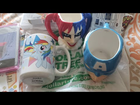 Dollar Tree Haul #187- New Stickers, Coffee Cups, and More!