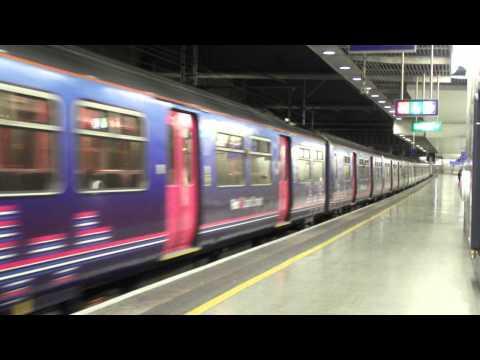 Class 319 (John Ruskin College) - First Capital Connect - St Pancras International Station (HD)