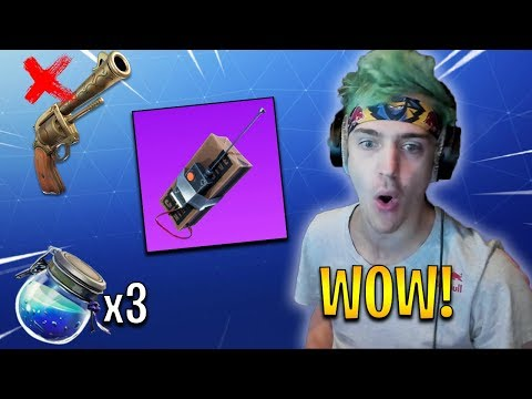 Ninja Reacts to Revolver REMOVED, Storm Changes, & More! | Fortnite Highlights & Funny Moments #105